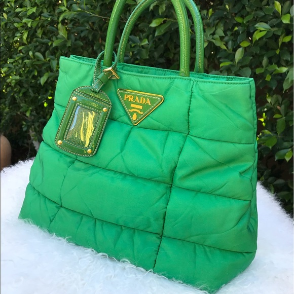 8600a76d63228a ... ebay prada kelly green quilted small handbag c9341 88598 ...